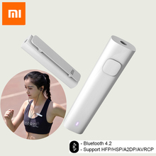 Xiaomi Bluetooth 4.2 Receptor de Audio Adaptador Inalámbrico 3.5mm Audio Música Coche Kit Altavoz Auriculares Manos