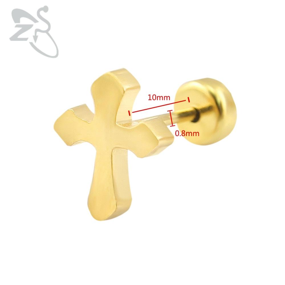 Baby Oorbellen RVS Kinderoorbellen Mode-sieraden Meisje Stud Earing - Mode-sieraden - Foto 4