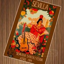 spain póster RETRO VINTAGE