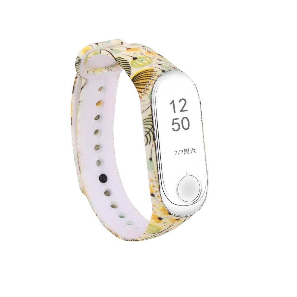 Купить с кэшбэком Sport Strap watch Silicone for Xiaomi Mi Band 3 wrist For xiaomi mi band 3 accessories bracelet for Mi band 3 Smart Wristband