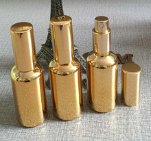 Just send to Franc 450pcs gold fine mist 50 ml glass spray bottles with free shipping