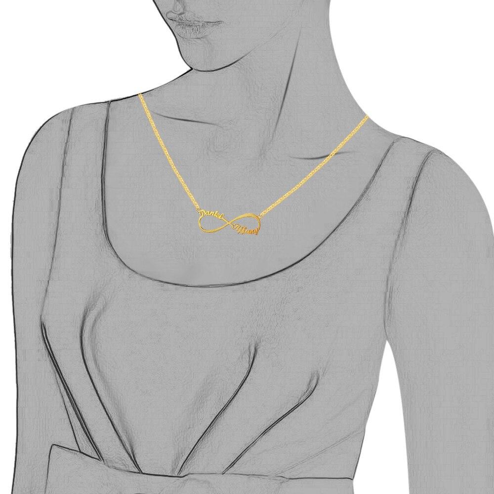 Personligt arabiskt ryskt namn Halsband Silver 925 Hängsmycke - Fina smycken - Foto 3