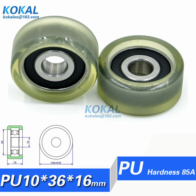 [PU1036-16] 5PCS TPU 6200RS bearing roller wheel guide sliding door platen type  sc 1 st  AliExpress.com : door bearing - pezcame.com
