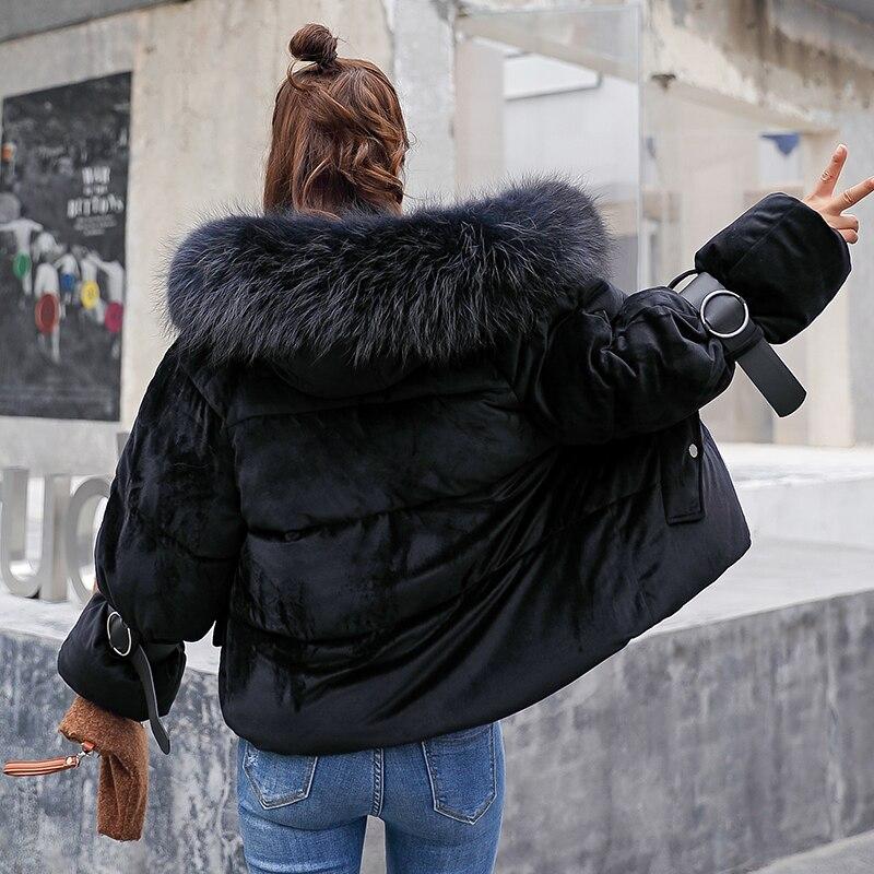 Wr13 Sportiva Ispessimento Nero Nuovo Beige Parka Cappuccio Imbottito Rivestimento Con Allentati Caldo Della Donne Inverno 2018 Rosa grigio Femminile Di Tuta il Breve Cotone Delle colore Cappotti fR0wnqg7q