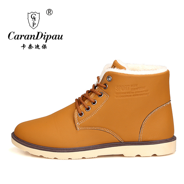 2016 men snow boots winter Non-slip weatherproof sir Muffin waterproof  boots Leisure  hot sale