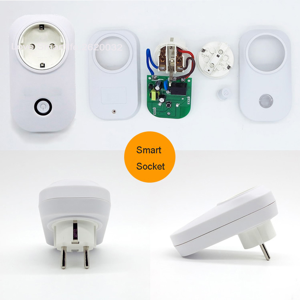 Smart Home Steckdose Us 14 92 22 Off Itead Sonoff S20 Drahtlose Wifi Fernbedienung Buchse Smart Timer Stecker Smart Home Steckdose Eu Uns Uk Standard Durch App Ewelink