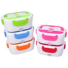 Electric Heating Lunch Box Portable Kids Food Container Thermos Lunchbox Bento Box With Cutlery Home Office EU US Plug(China)