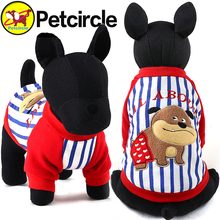 2017 petcircle new arrivals pet dog clothes winter cute dog dog hoodies for chihuahua warm dogs coats winter pet products