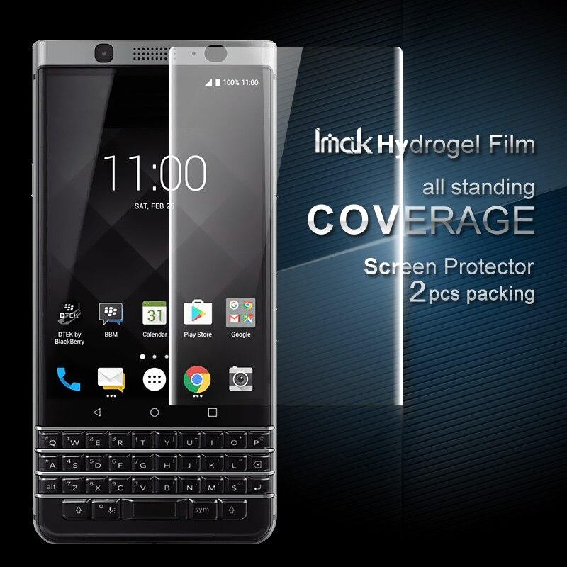 Para BlackBerry Filme Protetor iMAK KEYone Hidrogel Cobertura Suave Protetor de Tela Película Protetora Para BlackBerry KEYone