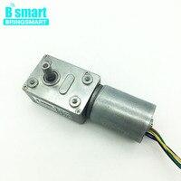 Bringsmart JGY 2838 DC Worm Gear Motor 12V High Torque Brushless Motor Reversed Mini Self Lock