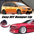 Bumper Lip Deflector Lips For Ford C-Max C Max CMax Front Spoiler Skirt For Car View Tuning / Body Kit / Strip