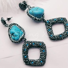 The new  style handmade jewelry fashion retro female earrings