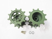 HENGLONG plastic driving wheels/sprockets for 1:16 1/16 3889-1 Leopard2A6 RC Tank, parts for tank, replacement Drive wheels
