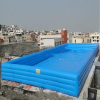 A big Inflatable water pool PVC swimming pool china for adult