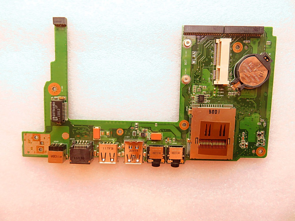 usb audio board FOR ASUS U33JC IO lan ethernet sd card reader BOARD good quality test well best after sales service