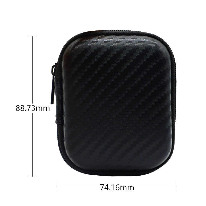 0eb2856cc53 Headset Hard Case Earphone Protective Cover Zipper Bag Shockproof Box for  Apple AirPods XR649