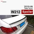 MERCEDES E CLASS W212 AMG STYLE GLOSSY BLACK CARBON FIBER TRUNK SPOILER FOR 2010 - 2015 BENZ E200 E260 E300 E400