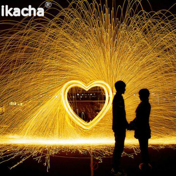 Selfie Tool Steel Wool Photography Spectacular Fiery Photo High Quality Metal Fiber For Light Painting Long