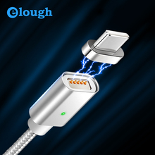 Elough E04 USB Type C Magnetic Cable For Samsung galaxy s8 note8 plus M