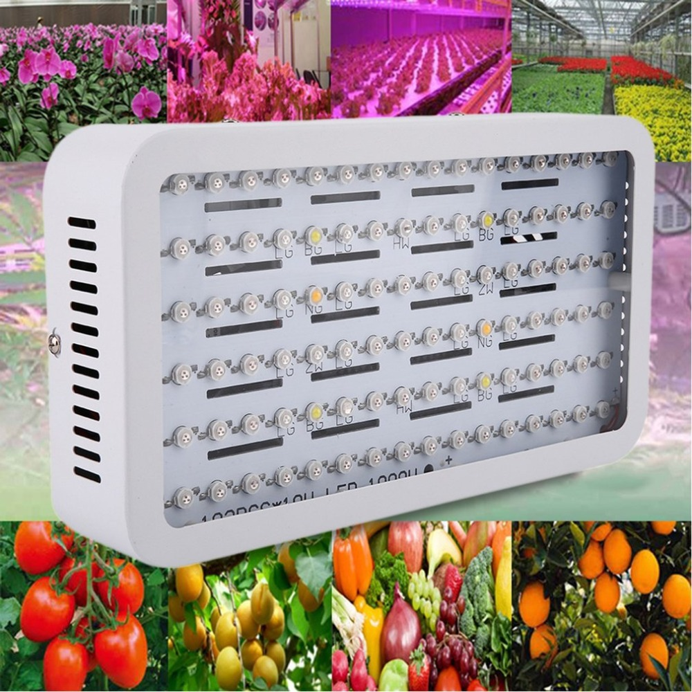 1000W LED Grow Light Tent For Hydroponic Planting Indoor Flower Greenhouse Lamp Suitable For Plant Growth LED Lamp hot sale 12w led plant grow lamp high bright appliable for indoor planting grow box grow tent lighting long lifespan