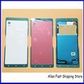 Оригинальный Новый Мобильный Телефон Задней Стороны Обложки Для Sony Xperia M4 Aqua E2303 E2333 E2353 Батареи Дверь Дело Корпус + NFC, черный/Белый/Красный