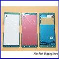 Original new mobile phone tampa traseira para sony xperia m4 aqua e2303 e2333 e2353 porta da bateria da habitação case + nfc, preto/Branco/Vermelho