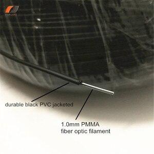 Image 2 - Заостренсветильник свет без УФ и инфракрассветильник 2,0 мм ПММА пластиковый оптоволоконный кабель 500 м/рулон наружный и подводный лучшее решение