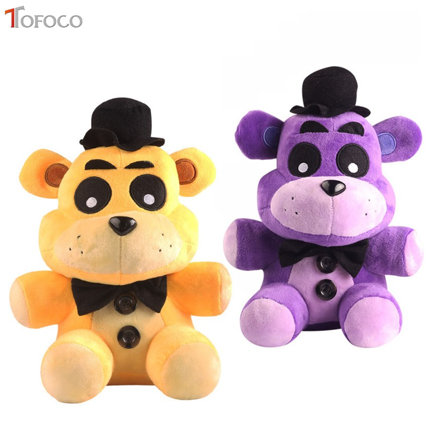 TOFOCO 18cm Hot Sale Five Nights At Freddy 2style plush Bonnie china foxy freddy doll toy Furnishing articles Children's gift