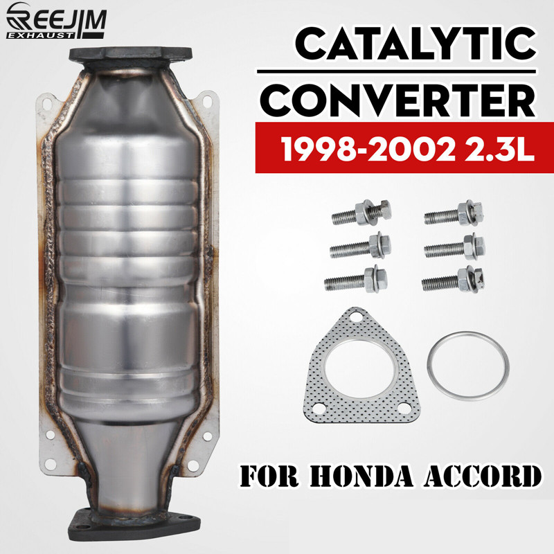 Catalytic Converter For 98-02 Honda Accord 4 2.3L Direct Fit Catalytic Converter ECO IV With Gasket