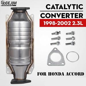 Image 1 - Katalysator Voor 98 02 Honda Accord 4 2.3L Direct Fit Katalysator ECO IV met pakking
