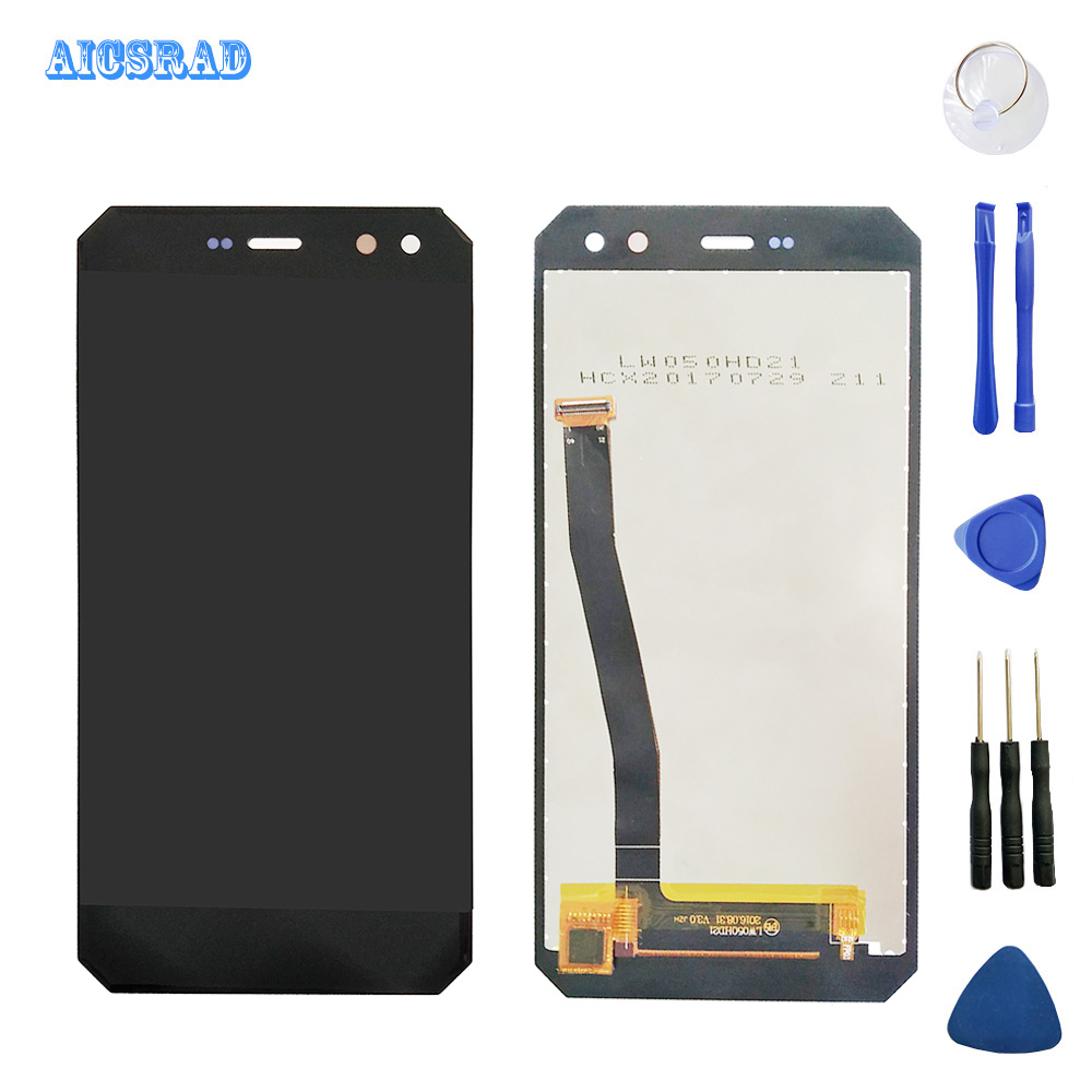 5 inch For nomu m6 LCD Display Touch Screen Digitizer Assembly 100 tested LCD Touch Digitizer