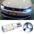 2 шт. led T10 w5w canbus автомобиль свет лампы с объективом проектора для vw touareg passat b5 b6 b7 jetta golf 6 7 5 4 touran beetle поло