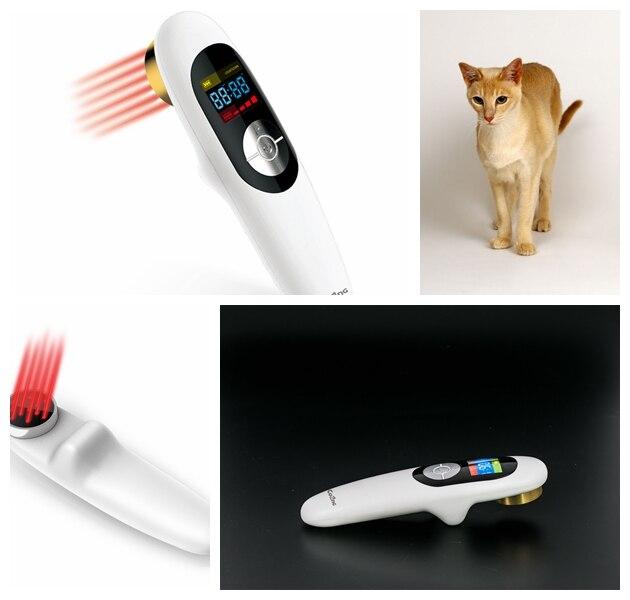 Ручные 808nm био лазерная терапия оборудования для клинического и домашнего
