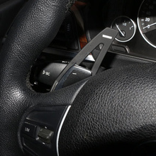 Car Styling Steering Wheel Aluminum Shift Paddle Shifter Extension fits for BMW F30 F10 3 Series 5 Series Car Accessories