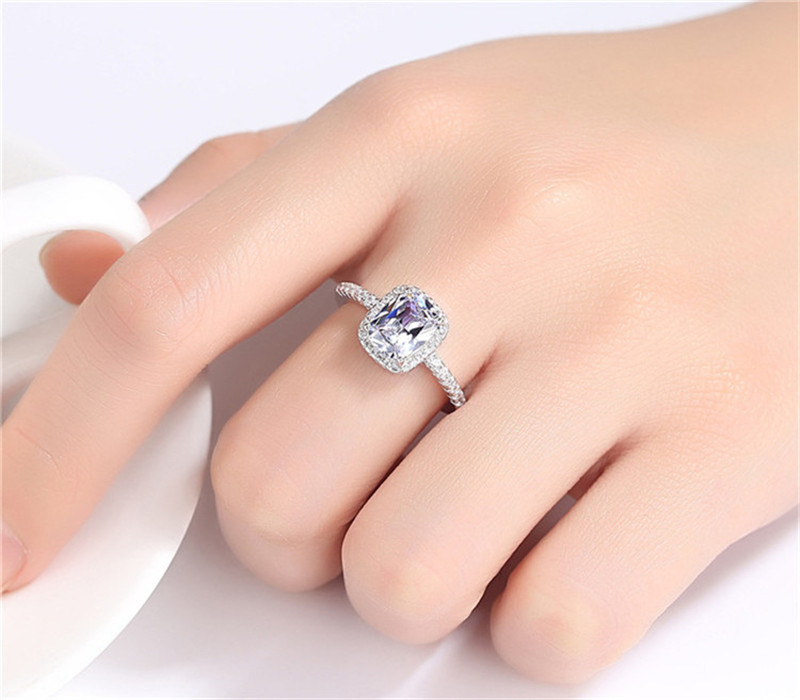 925 Sterling Silver Rings For Women 13