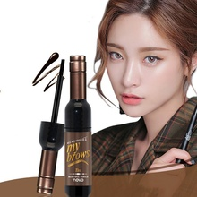 1pcs Dye Eyebrow Gel Cream Waterproof Wine Bottle Shape Peel Off Eye Brow Mascara xgrj