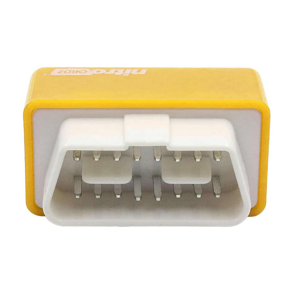 Full Chip Nitroobd2 benzine DIESEL Cắm ECOOBD2 Ổ Điều Chỉnh Chip Hộp Xăng DIESEL Phiên Bản Lập Trình Lại ECU Hơn Mô Men Xoắn