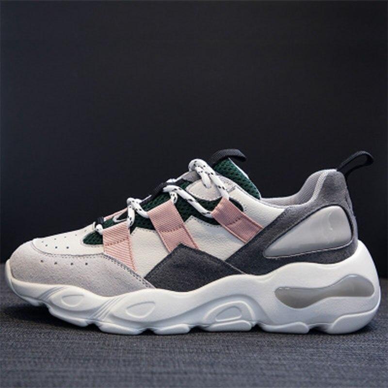 Air Schuhe Sohlen Outdoor Vulkanisierte Flachen Mode Dicken Frauen Freizeit durchlässigen CIq00dw