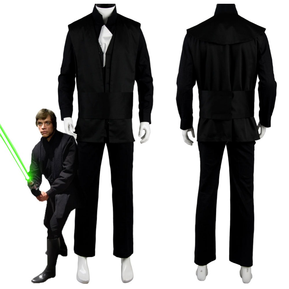 Luke Skywalker Costume Suit Movie Cosplay Costume Custom Made