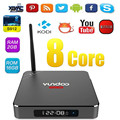 YUNDOO Y1 S912 Android 6.0 Unidades Top Box Amlogic TV Box de $ number núcleos 2 GB RAM 16 GB ROM Kodi 16.1 Completo Cargado Media Player con Control Remoto