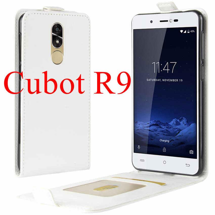 Pour Cubot X18 Plus etui Cubot R9 rainbow 2 echo Cover etui de téléphone en cuir synthétique polyuréthane pour Cubot X18 Plus X 18 Plus Film de protection d'écran