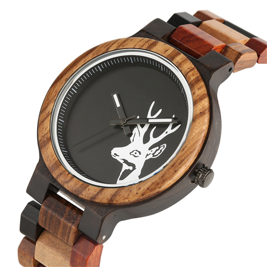 Stylish Handmade Wooden Watch for Women Men