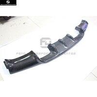 E90 V style carbon fiber auto car rear bumper diffuser lip for BMW E90 M3 bumper car body kit 05 08