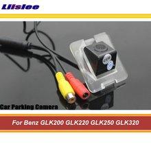 Samochód tylna kamera tylna dla Benz GLK200 GLK220 GLK250 GLK320 GLK350 cofania Parking AUTO HD SONY CCD III CAM tanie tanio Liislee CN (pochodzenie) Plastikowe + Szkło Drutu Pojazd backup kamery Z tworzywa sztucznego For Benz GLK200 GLK220 GLK250 GLK320 GLK350