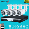 New 4ch 1920p Full Hd Surveillance CCTV DVR H 264 Video Recorder AHD Outdoor Mini Bullet