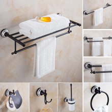Oil Rubbed Bronze Bathroom Accessories Sets Towel Shelf Towel Holder Toilet Paper Holder Rove Hook Ceramic Bathroom Products стоимость