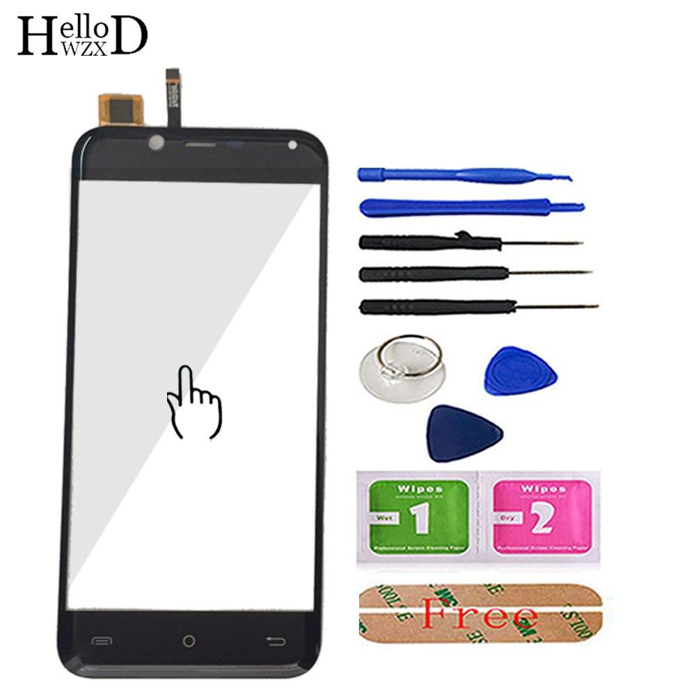 HelloWZXD 5.0 ''טלפון נייד לוח מגע עבור Cubot קסם מול מסך מגע זכוכית Digitizer פנל עדשת חיישן כלים דבק