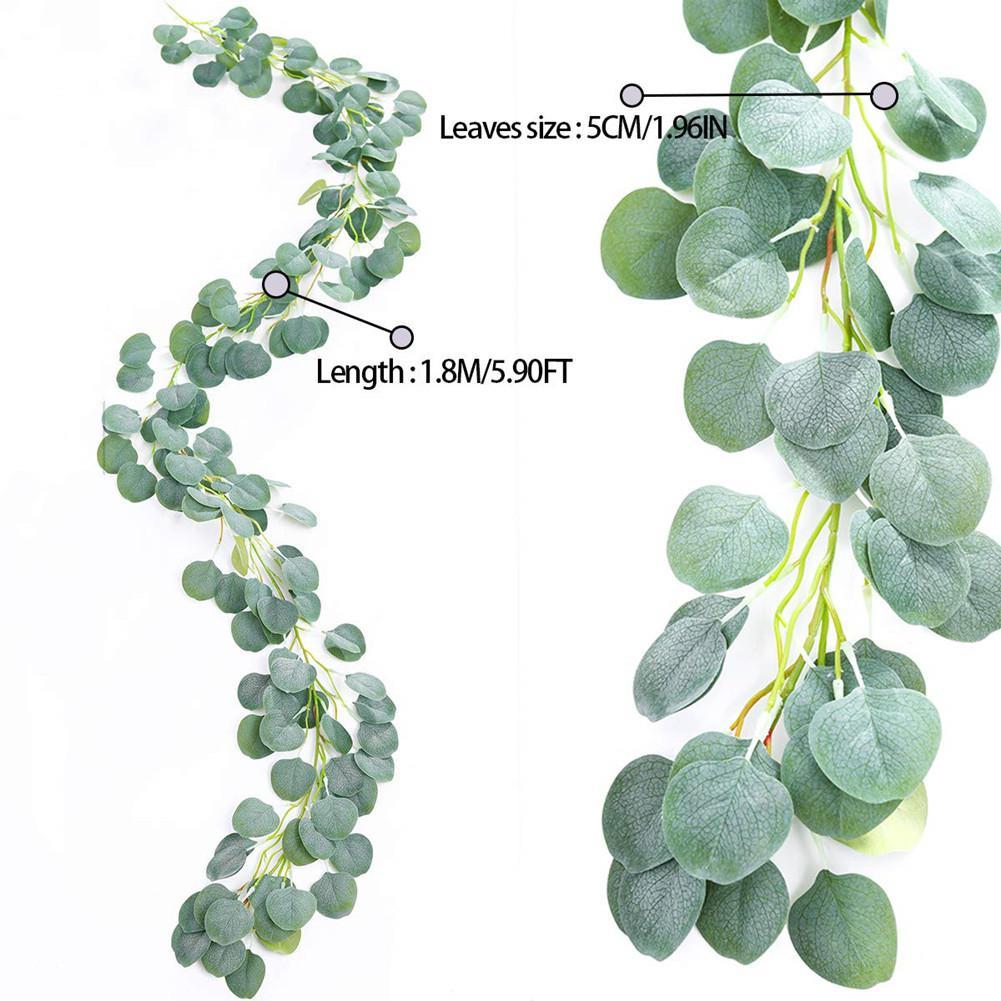 Artificial Eucalyptus Leaves Ivy Leaf Garland Vine