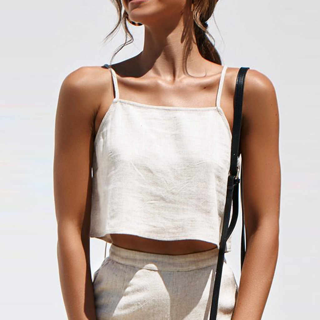 2019 Mulheres Da Moda Pura Cor Zipper Camisola Colete tanque Sexy Encabeça Fácil streetwear Blusa haut femme top colheita fêmea T camisa