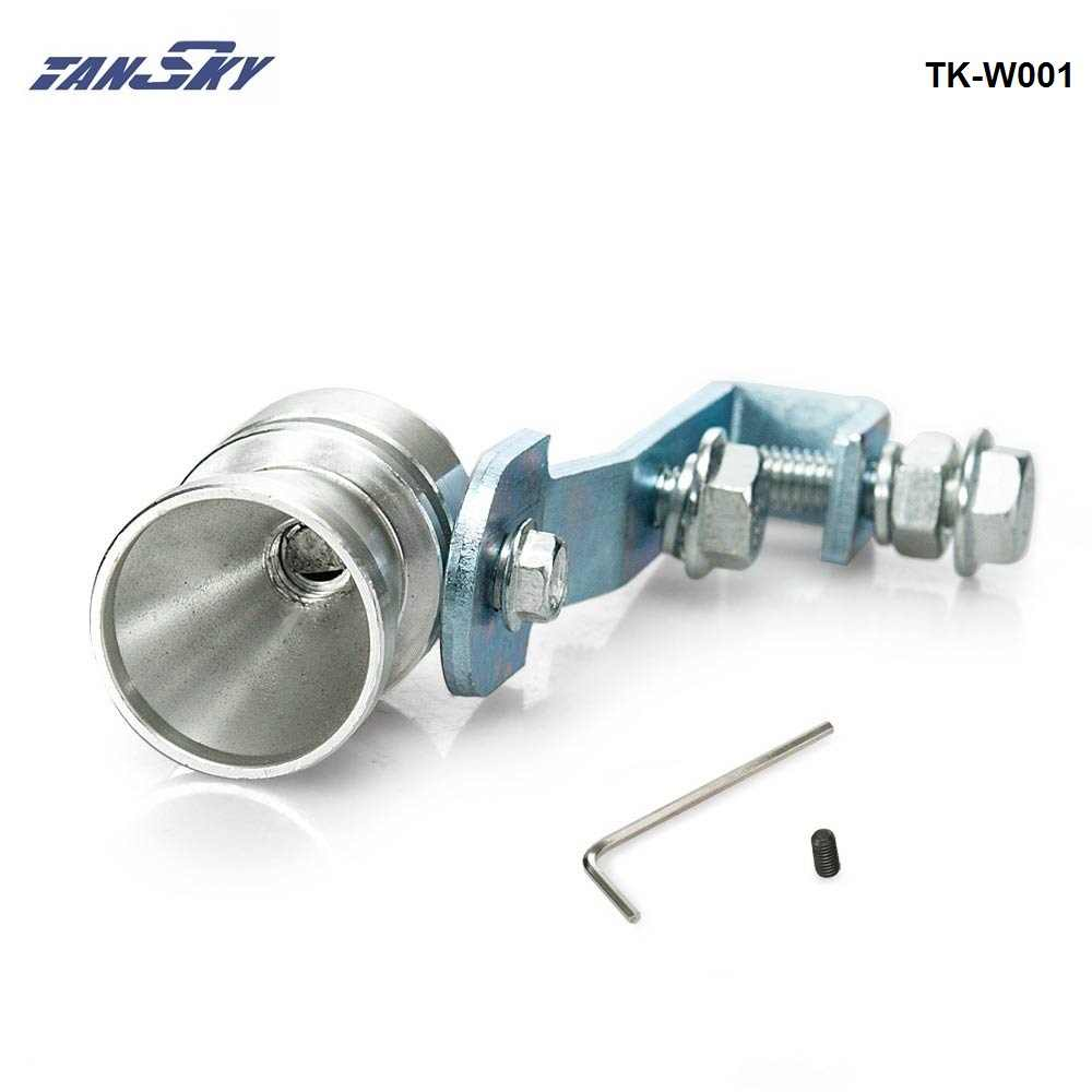 Universele Auto Turbo Sound Whistle Muffler Uitlaat afblazen Vale BOV Simulator Whistler M Maat TK-W001 (1 ST)